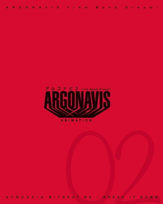 ★특전★【캐릭터송】ARGONAVIS from BanG Dream! GYROAXIA WITHOUT ME/BREAK IT DOWN Blu-ray부록생산한정반