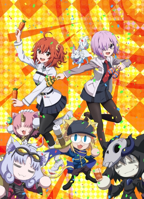 【Blu-ray】Fate/Grand Carnival 1st Season 완전생산한정판